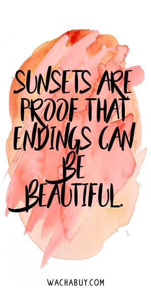 sunset-quote