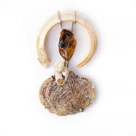 carol- bone pendant