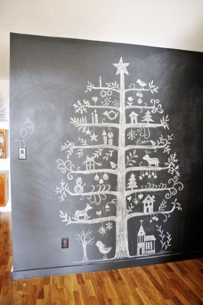 Chalk-Christmas-Tree