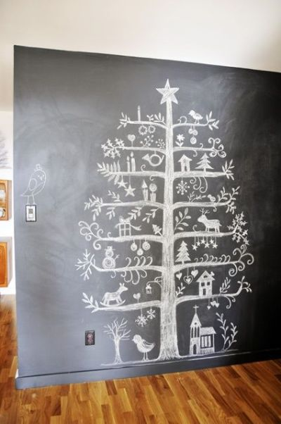 Chalk-Christmas-Tree