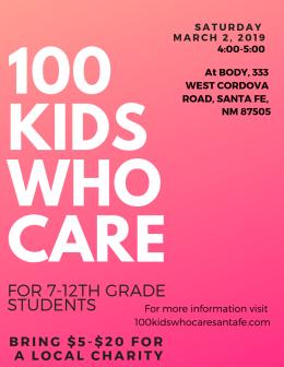 100 Kids Who Care in Santa Fe-3