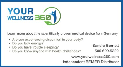 Your Wellness 360 Business Card